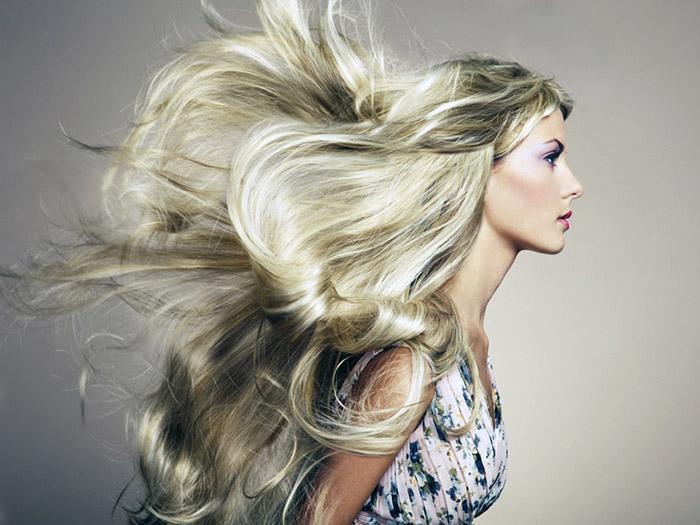 Развивающиеся волосы