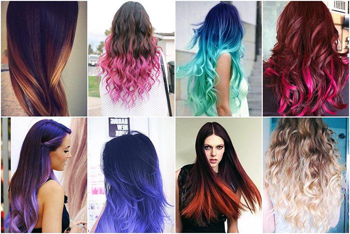 Красивая покраска волос