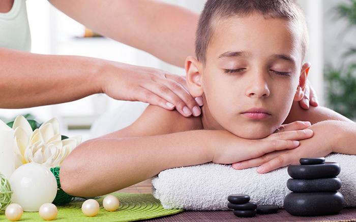 массаж детям