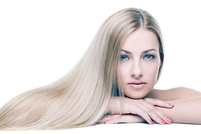 длинные волосы блондинки