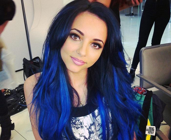 Кому идет синий цвет волос