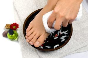 чистые ноги