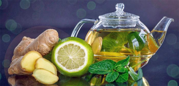 имбирно лимонный напиток