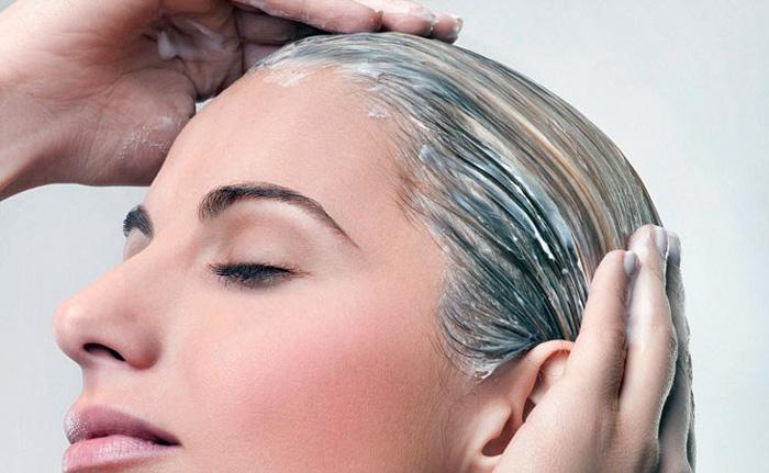 использование мыла для волос