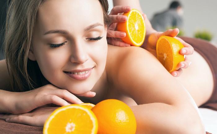 масло апельсина для тела
