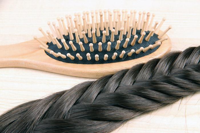 плотные волосы