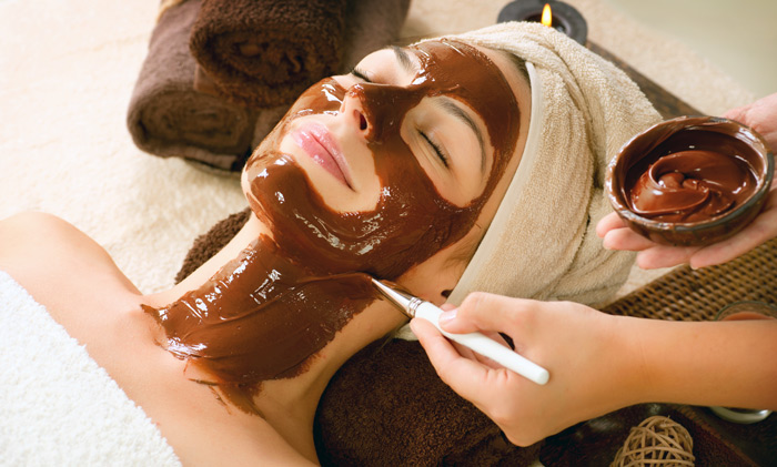 применение маски какао