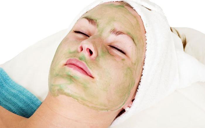 маска из алое