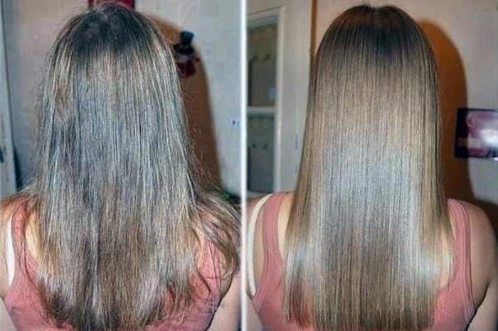 фото до и после применения масла ши