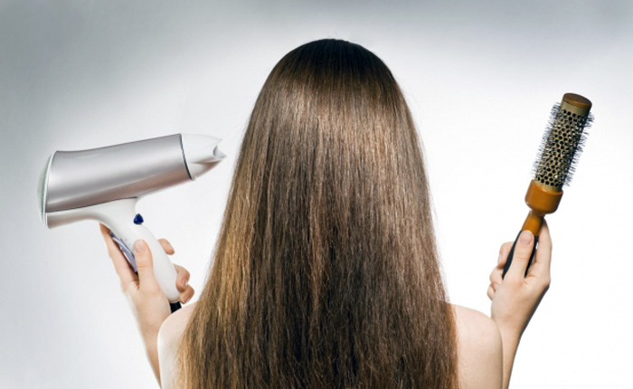 укладка волос без фена