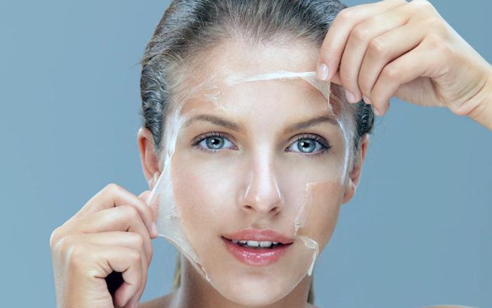 действие маски пленки на кожу