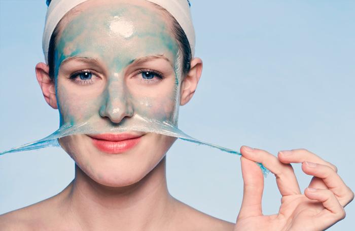 применение маски пленки для чистки пор