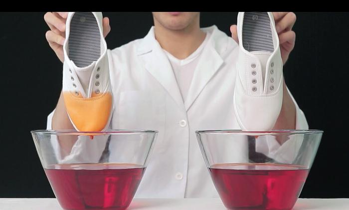 применение водоотталкивающей пропитки