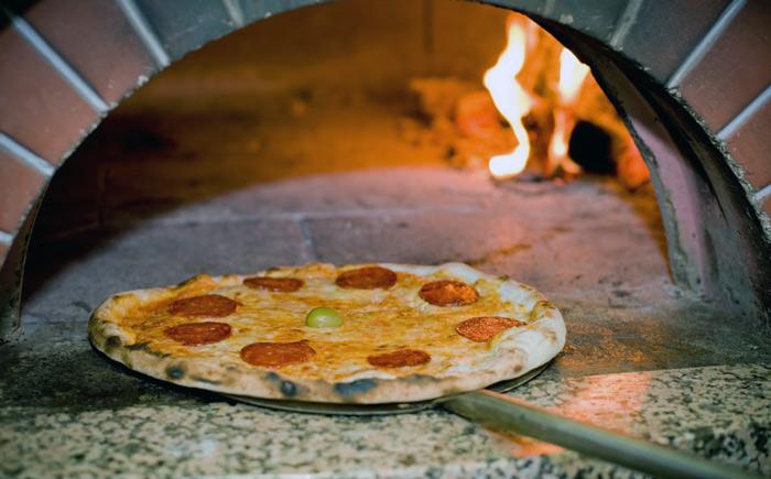 приготовленная пицца