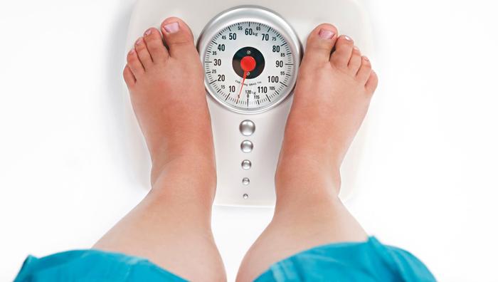 необходимый вес тела