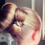 Как сделать бант из волос — пошаговая инструкция