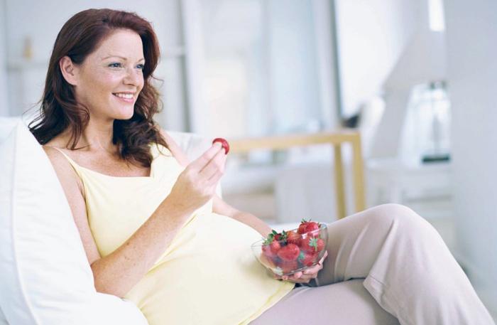можно ли клубнику беременным
